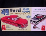 AMT T149    --    '49 Ford Club Coupe 3'n1 Customizing Kit   1:25
