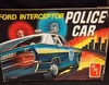 AMT T227   --   Ford Interceptor Police Car   1:25  (parts off tree)