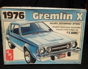 AMT T466   --     1976 Gremlin X   1:25   (decals cracked)