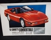 ARII 41152  --   1992 Corvette Convertible Owner's Club Series   1:24