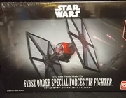 Bandai 203219     --     First Order Special Forces TIE Fighter    1:72