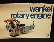 Entex 8201     --     Wankel Rotary Engine - 'Unique, Pistonless Engine Of The Furture'  1:5