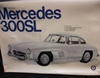 "Entex 9019   --     ""Gullwing"" Mercedes 300SL    1:16"