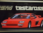 Fujimi RC-105   --    Koenig Testarossa   1:16