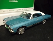 Greenlight 19008       --       1967 Impala Sport Sedan 1:18   (with all original packaging)