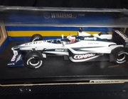 Hot Wheels 26736   --    Williams F1 Team    - Jenson Button    1:18  (box rough around edges)