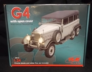 ICM 24012   --    'G4'  w/open cover  WWII German Personnel Car  1:24