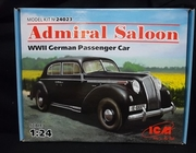ICM 24023   ---   'Admiral Saloon'   WWII German Passenger Car   1:24