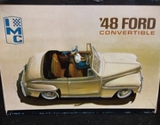 IMC 105-200   --    '48 Ford Convertible   1:25  (bad decals)