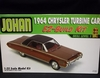JoHan 202   --      1964 Chrysler Turbine Car  EZ-Build   1:25