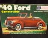 Lindberg 2120     --     '40 Ford Convertible   1:32