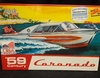 Lindberg 221/12       --       '59 Century Coronado  Display Base Included   1:25