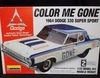 Lindberg 72156   --    'Color me Gone'   1964 Dodge 330 Super Sport  1:25