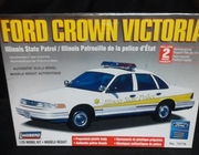 Lindberg 72776   --  'Illinois State Patrol' Ford Crown Victoria    - PrePainted Body  1:25