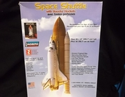 Lindberg 91002      --      Space Shuttle with Booster Rockets  / Full Color Decals for Enterprise, Columbia, Challenger, Discovery, Atlantis & Endeavour   1:200