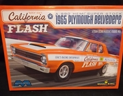"Moebius 1221     --    ""California Flash"" Butch Leal's 1965 Plymouth Belvedere A-990 Hemi Super Stock  1:25"