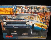 Moebius 1229    --    'Melrose Missile'  1965 Plymouth Super Stock  1:25