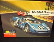 Monogram 124    --    SCARAB/Rear-Engined   1:24