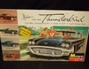 Monogram      --    1958 Ford Thunderbird  4-Way Customizing Kit  /  Molded in Yellow   1:24
