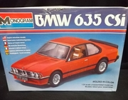 Monogram 2275    --    BMW 635 CSi   1:24