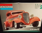 Monogram 2702     --     ZZ Top Eliminator   1:24   (decals damaged)
