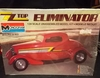 "Monogram 2702     --      ZZTop's ""Eliminator"" Chopped-Top Three-Window '33 Ford   1:24"