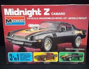 Monogram 2717    --      Midnight Z Camaro 3'n1   1:24