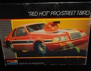"Monogram 2738    --    ""Red Hot"" Pro/Street Thunderbird   1:24"