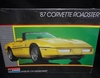 Monogram 2742   --    1987 Corvette Roadster  1:24