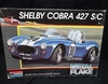 Monogram 2764   --    Shelby Cobra 427 S/C   Blue 'Metal Flake' Color   (decals cut/9's missing)  1:24