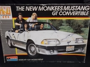 Monogram 2771    --   The New Monkees Mustang GT Convertible   1:24
