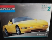 Monogram 2936  --   '91 Corvette ZR-1  1:24
