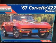 Monogram 2968   --    '67 Corvette 427 Roadster   1:25