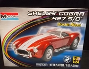 Monogram 4011     --     Shelby Cobra 427 S/C  'Dream Rides'   1:24