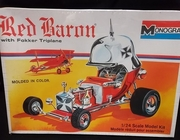 Monogram 6740     --    Red Baron with Fokker Triplane  1:24