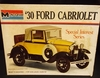 Monogram 7552     --     '30 Ford Cabriolet / Special Interest Series   1:24