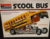 Monogram 8290     --     'S'COOL BUS'  Outa-Sight Dual-Engine Drag Machine   1:24