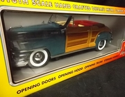 Motor City 5002      --       1948 Chrysler Town & Country (in military blue)   1:18