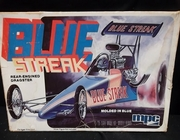 MPC 0704      --     ' Blue Streak'  Rear Engined Dragster   1:25