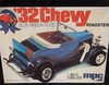 MPC 0718   --    '32 Chevy Roadster   /   Blue Ribbon Rods   1:25