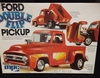 MPC 0724  ---    'Double Flip' Ford Pickup    /  flip-up front end & pickup bed  1:25 (decals damaged)