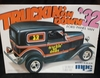 MPC 0727    --    '32 Ford Panel Van   1:25  (bad decals)