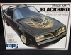 MPC 0777    --      'Blackbird'  Trans-Am   Special Edition Muscle Car w/cut out roof panels & gold trim  1:25