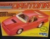 MPC 0823   --    Dodge Daytona Turbo-Charged Super Coupe   1:25