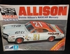 MPC 1704    --    Donnie Allison's NASCAR Mercury   1:25  (decals damaged)