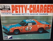 MPC 1708-225   --     Richard Petty's NASCAR Charger #43  1:25  (parts off tree)