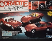 MPC 2052     --      'Corvette Collector Series'   includes 1957, 1975 & 1985 Corvettes   1:25
