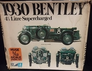 MPC 3051   --  1930 Bentley 4 1/2 Litre Supercharged  1:12   (rough box)