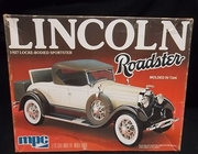 MPC 3152   --     1927 Lincoln Roadster     Locke-Bodied Sportster   1:25