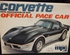 MPC 3710   --    1978 Indianapolis 500 Corvette Official Pace Car  1:25  (no decals)